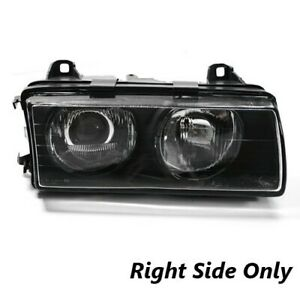 E36 Zkw Type Euro Ellipsoid Projector Glass Headlight Right Passenger Side Rh