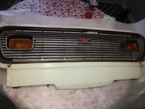 1974 Gremlin Grill Complete With Signals 74 75 Amc X
