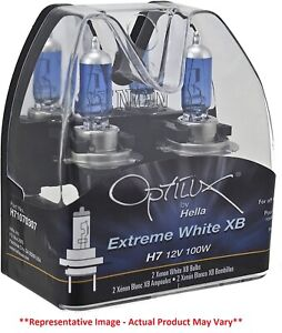 Hella Optilux Extreme White Xb Bulbs H7 12 V 100 W Off Road Only H71070307