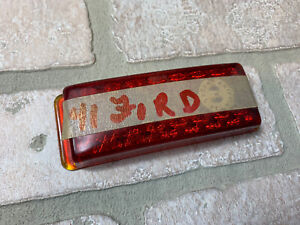 1941 Ford Red Glass Tail Light Lens