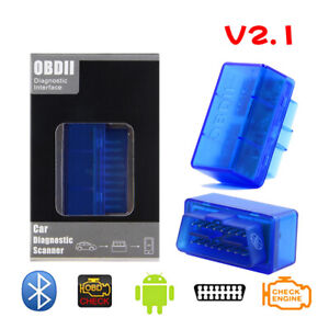 Super Mini Obd2 V2 1 Bluetooth Diagnostic Scanner Tool For Multi brands Can bus