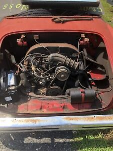 Vw 1600 Dual Port Bug Karmann Ghia Aircooled Engine And Transmission 70s
