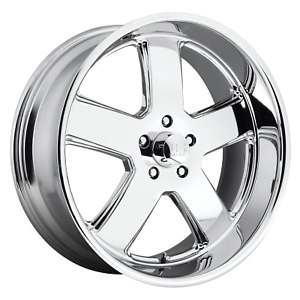 Us Mag 1pc U116 Hustler 20 Inch 5x5 4 Wheels Rims 20x9 5 1mm Chrome