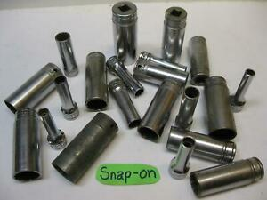 Snap On Vintage Tools 3 8 Drive Sae 12 Point Sockets Sold Each Usa