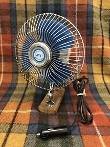 Vintage Amt Car Truck 6 Fan Blue Runs Strong Made In Taiwan