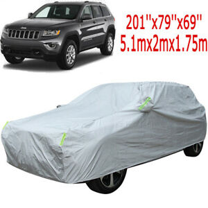 For Jeep Grand Cherokee 6 Layer Car Cover Outdoor Water Proof Rain Snow Sun Dust