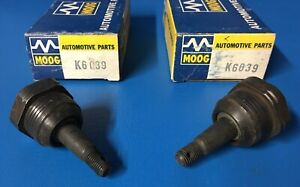 Pair Nos Moog 1960 69 Chevrolet Corvair Lower Ball Joints Monza Spyder