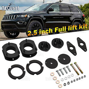 2 5 Suspension Full Lift Kits Shock Spacers Fits For Jeep Grand Cherokee Wk2
