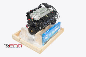 Chevrolet 5 7 350 Engine 1996 00 4 Bolt New Reman Production Dressed In Crate