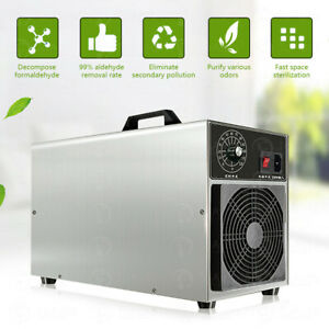 30000mg h Ozone Generator Machine Commercial Industrial Air Purifier Ionizer us