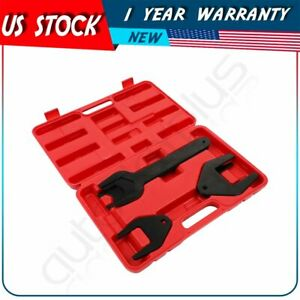 10pcs Fan Clutch Pneumatic Wrench Tool Kit Set For Ford Chrysler Vehicles