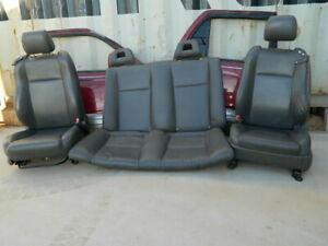 Toyota Solara Convertible Leather Seats set Driver Passenger And Rear