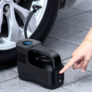 New Portable Cordless Car Air Compressor Auto 12v Digital Tire Inflator Air Pump