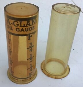 Vintage at a glance Old Steam Hit Miss Stationary Engine site Gauge Glass