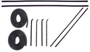 1960 1961 1962 1963 Chevrolet Gmc Pickup Truck Door Weatherstrip Seal Kit New