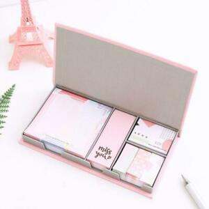 Kawaii Multi function Memo Pad Bookmark Sticky Notes Set School Supplies Paper