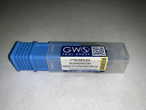 Gws Tool Group 5 8 6fl Double End Dovetail Nacro Slot Cutter End Mill Cnc Bit