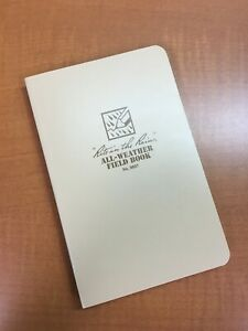 Rite In The Rain No 980t All Weather Field Book Notebook Journal
