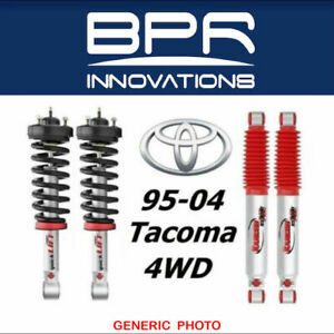 Rancho For 95 04 Tacoma 4wd Loaded Quicklift Front Struts rs9000xl Rear Shocks