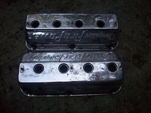 Vintage Chrysler Fire Power Hemi 351 354 392 Valve Covers Hot Rod Rat