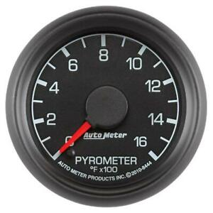 Autometer 2 1 16 Pyrometer 0 1600 Deg F For 99 07 Ford F250 F350 Factory Match