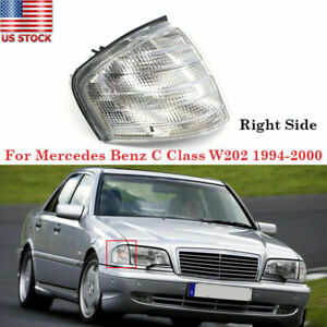 For Mercedes Benz C Class W202 1994 00 Right Corner Lights Turn Signal Lamp Lens