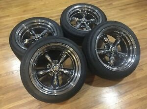18 American Racing Wheels Vn515 5x5 Set Of Four With Tires
