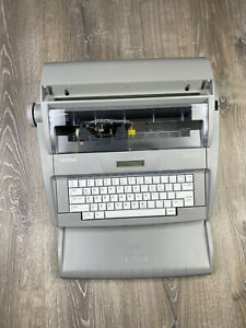 Brother Sx 4000 Portable Electronic Typewriter W Lcd Digital Display Tested