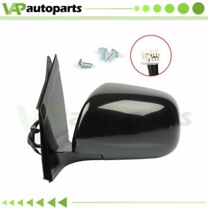 For 2004 2009 Lexus Rx330 rx350 Left Side Mirror Black Power Heated