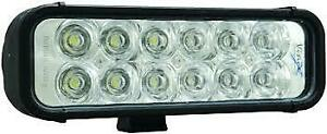 Vision X Xmitter 8 Led Light Bar Euro Beam Twelve 3 Watt Led Part Xil 120