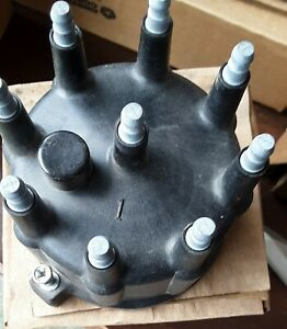 Mopar Oem Distributor Cap 53008767 Nos Old Box Not Used But Not Perfect