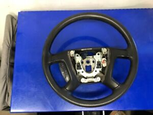 2007 2014 Gm Black Rubber Steering Wheel W Criuse 22947808