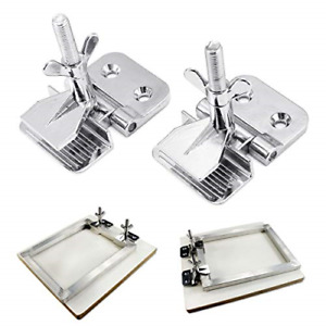 Intbuying 2 Pc Of Screen Frame Butterfly Hinge Clamp For Silk Screen Printing