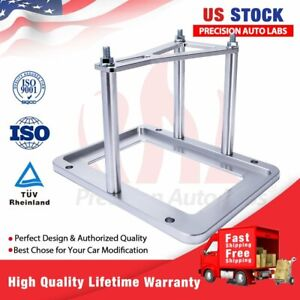 Universal Billet Battery Tray Hold Down Relocation Box Aluminum Holder Trunk New