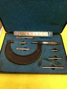 Central Tools Micrometer 6205 1 To 3