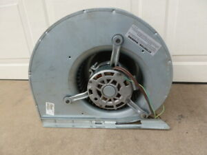 Works Air Handler Squirrel Cage Blower Fan Assembly Hp 230 Volt Motor Heat A c