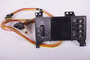 1994 96 Corvette Original Power Seat Control Switch And Wiring Assembly Unit