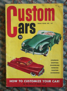 Custom Cars 1950 Vintage How To Chopping Lowering Channeling Grills Ford Barris