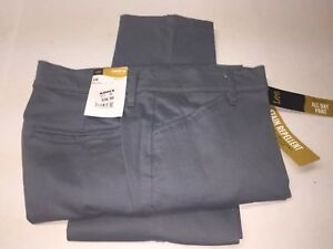 Lee All Day Pant Straight Relaxed Fit Womens Size 4 Balsam $15.00