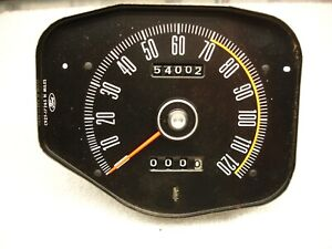 1969 1970 Mustang Boss 302 Speedometer W Trip Odometer For Factory Tach Std Int