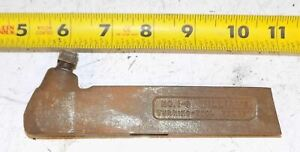 Williams Lathe Cut Off Side Tool Holder No 1 s