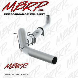 Mbrp S60200plm 5 Down Pipe Back Exhaust 2001 2007 Chevy 2500 3500 6 6l Diesel