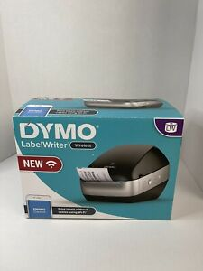 Dymo Labelwriter Wireless Wifi Thermal Label Printer For Home Office Black