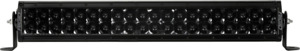 Rigid Industries E Series Pro Midnight Edition Spot Optics 20 Led Light Bar