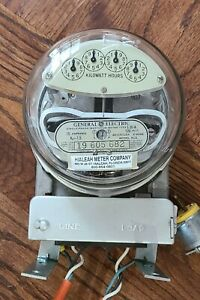Brand New General Electric Single Phase Watt Hour Meter Type 1 30 a Ac1 Kw