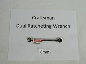 Craftsman Metric Dual Ratcheting Wrench
