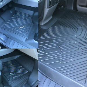 Lasfit Floor Mats For Ford F 150 15 2021 F150 Supercrew Floor Liners All Weather