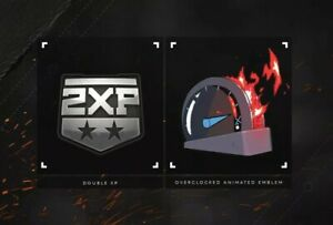 Call of Duty Black Ops: Cold War Xfinity Overclocked Emblem 5 hours 2XP $50.00