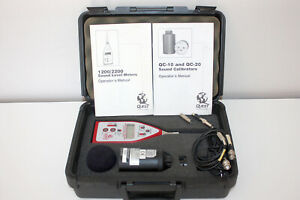 Quest Technologies 2200 Integrating Averaging Sound Level Meter W qc 10 Cal