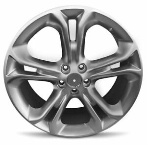 Set Of 4 New 20 Inch Aluminum Alloy Wheel Rims For 2011 2015 Lincoln Mkx 5 Lug